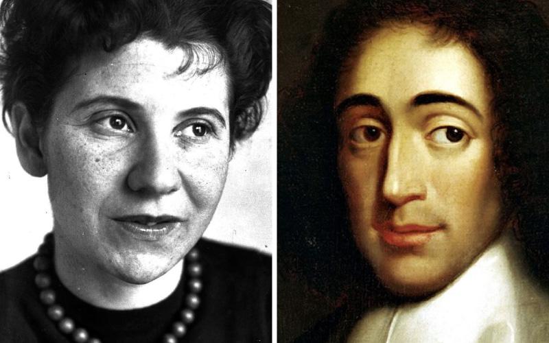 Espinosa e Etty Hillesum, por Maria Luísa Ribeiro Ferreira