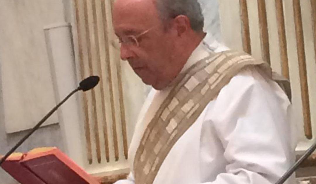 Homilia de José Alberto Lopes Costa, na sua apresentação à comunidade como Diácono