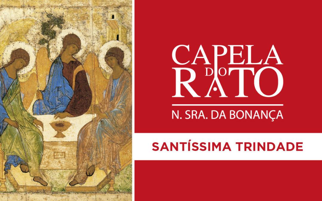 Inscrições para a Eucaristia do Domingo da Santíssima Trindade